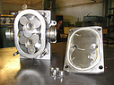 Роторный насос В3-ОР2-А-2 (К) с защитным кожухом (2м3/ч) 3-х лепестковый, фото 3