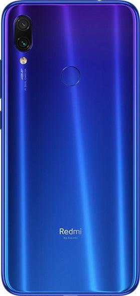 Xiaomi Redmi Note 7 4/64 с защитным чехлом .