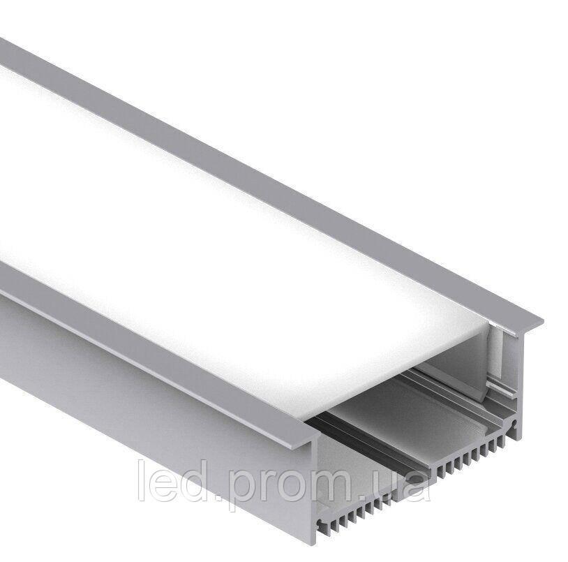 LED-профиль широкий врезной LE8832 (2,5 метра)