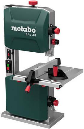 Ленточная пила по дереву Metabo BAS 261 Precision 400Вт, фото 2