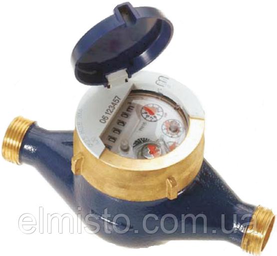 """Счетчики воды Sensus 420 Q3 16 (dy 40)  1 1/2"""" многоструйные мокроходы для домов (Словакия)"""