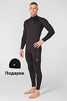 Мужское спортивное термобелье Radical Raptor, комплект термобелья с шапкой в подарок! XL