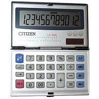Калькулятор карманный CITIZEN 80а (двойное питание)