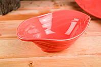 Керамический салатник розового цвета 700 мл