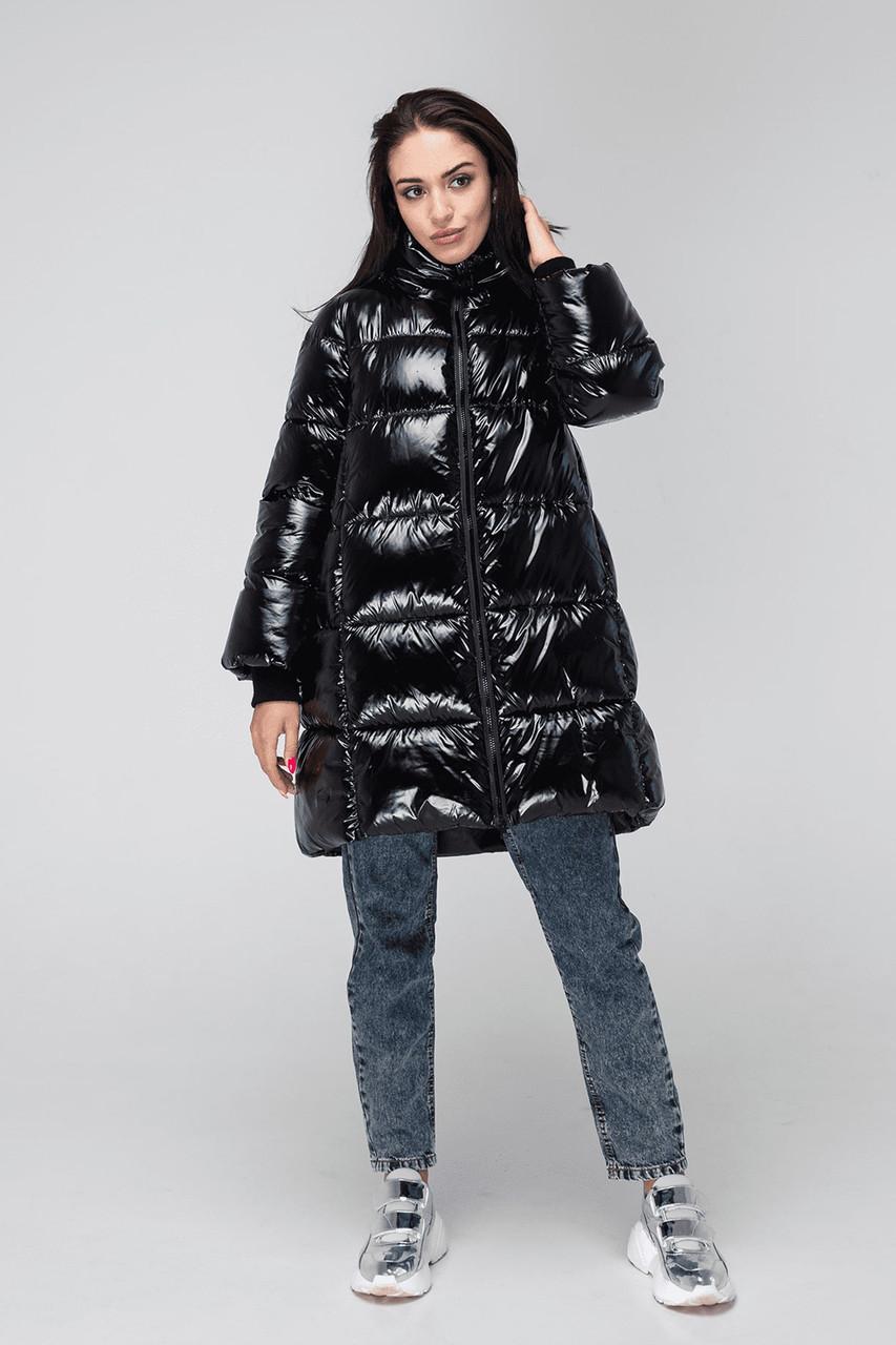Зимняя женская куртка KTL-361 из новой коллекции KATTALEYA черная