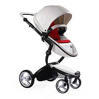 Детская коляска трансформер 2 в 1 Mima xari snow White