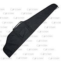 Чехол для винтовки 115 см синтетический с оптикой , черный