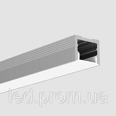 LED-профиль накладной LS1613(B) (2,5 метра)