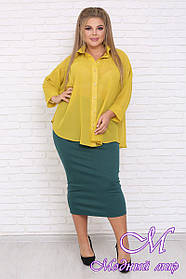 Женская юбка большого размера (р. 42-90) арт. Леля