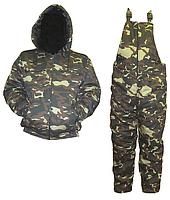 Камуфлированный бушлат - куртка+комбинезон