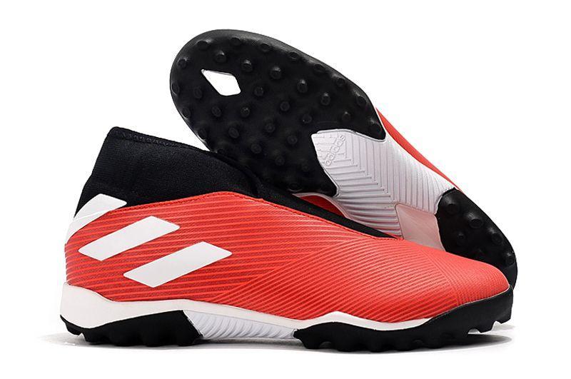 Сороконожки Adidas Nemeziz 19.3 Laceless TF red