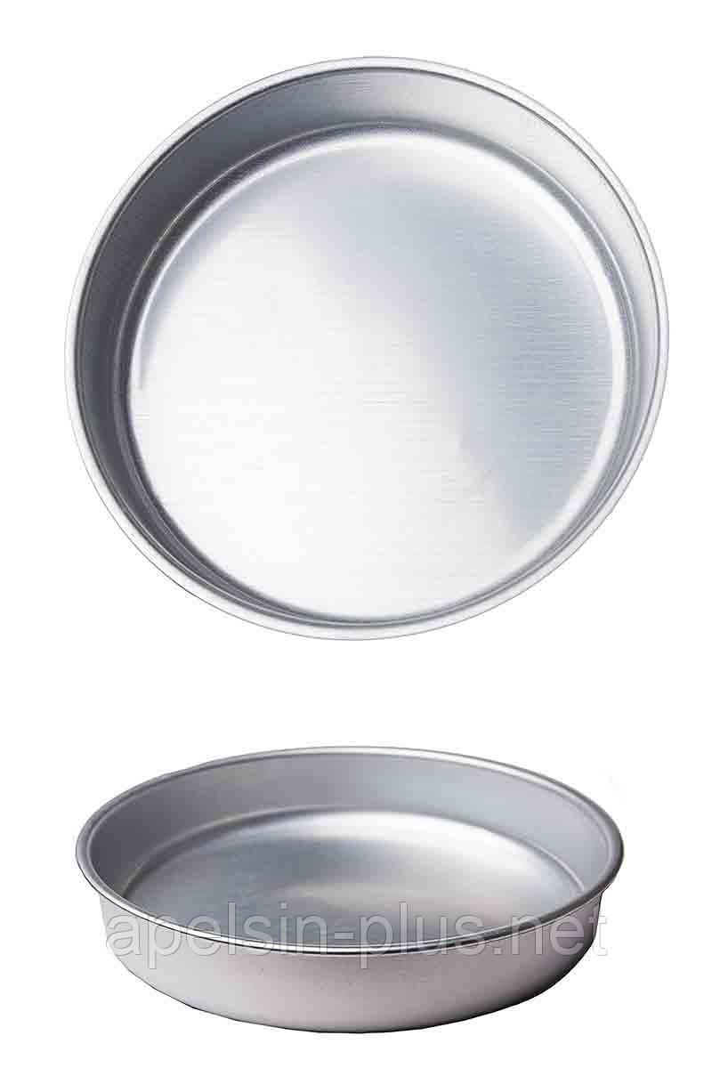 Форма для выпечки алюминиевая № 3  диаметр 28,0 см, 5,5 см