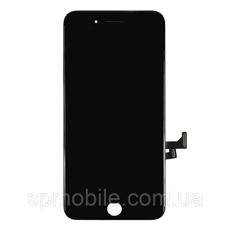 Дисплей iPhone 7 Plus ,чёрный, с рамкой, с сенсорным экраном, (восстановленный)
