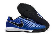 Футзалки Nike Tiempo Ligera IV IN blue, фото 1
