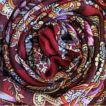 Літнє диво 1885-5, павлопосадский вовняну хустку з шовковою бахромою, фото 8