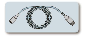 Кабель-адаптер для датчика інвазивного тиску до монітора пацієнта