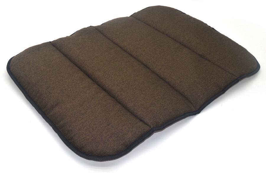 Матрас коврик для собак и котов Loft №4 70х110 см коричневый + бежевый