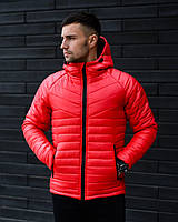 Мужская зимняя куртка Найт красная (0...-15С)