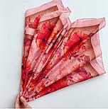 10799-3, павлопосадский платок на голову хлопковый (саржа) с подрубкой, фото 7