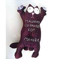Мягкая игрушка Саймон кот  на присосках в машину 30 см.