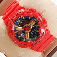 Часы мужские наручные Casio G-Shock GA-110 Red/Blue/Yellow