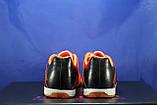Обувь для футбола, подростковые бампы оранжево-черные Restime, фото 3