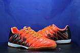 Обувь для футбола, подростковые бампы оранжево-черные Restime, фото 5