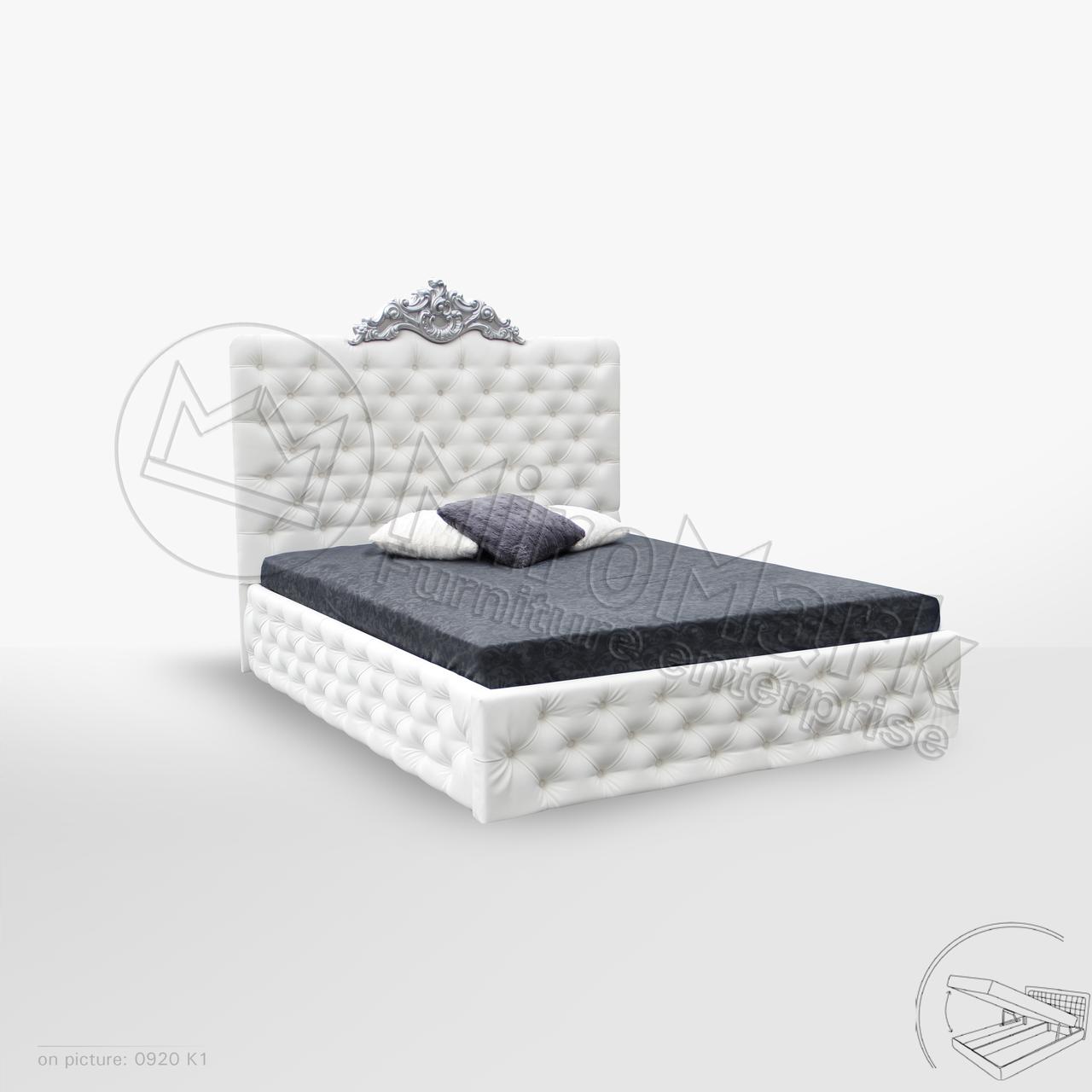 Кровать Дианора 1,80 м. с подъемным механизмом (ассортимент цветов)