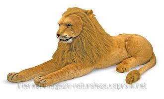 Большой плюшевый лев ТМ Melissa&Doug, фото 2