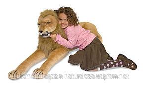 Великий плюшевий лев ТМ Melissa&Doug, фото 2