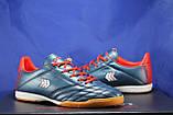 Взуття для футболу, підліткові сині з червоним бампы Restime, фото 3