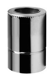 Труба из нержавеющей стали с термоизоляцией нерж/нерж L=0,3м