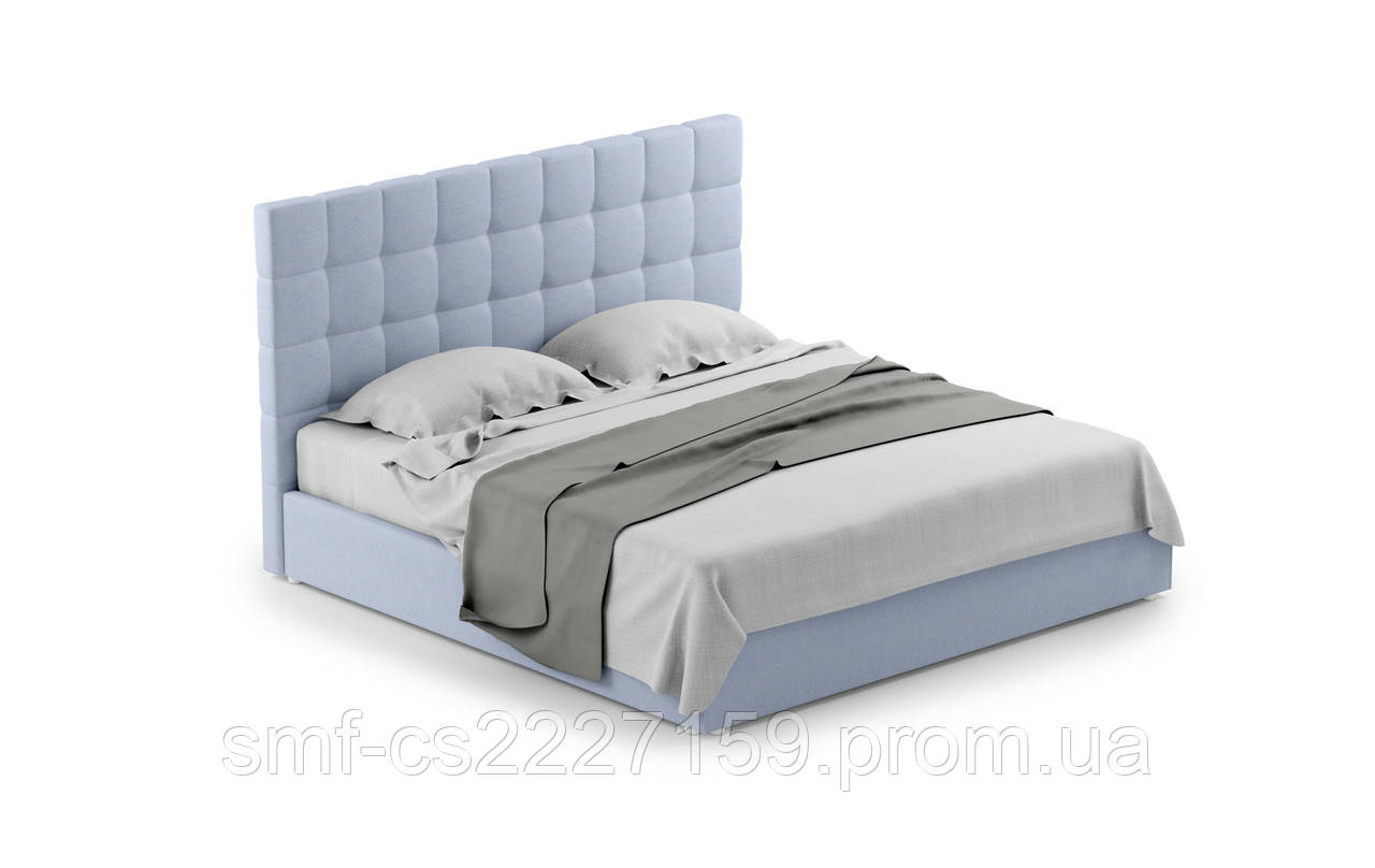 М'яке двоспальне ліжко Блау