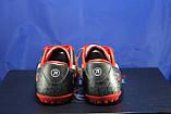 Підліткові червоні стоноги, многошиповки, взуття для футболу розміри:38,40,41, фото 2