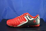 Підліткові червоні стоноги, многошиповки, взуття для футболу розміри:38,40,41, фото 4