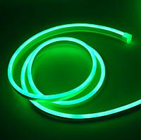 Светодиодный гибкий неон 220В, IP65 зеленый