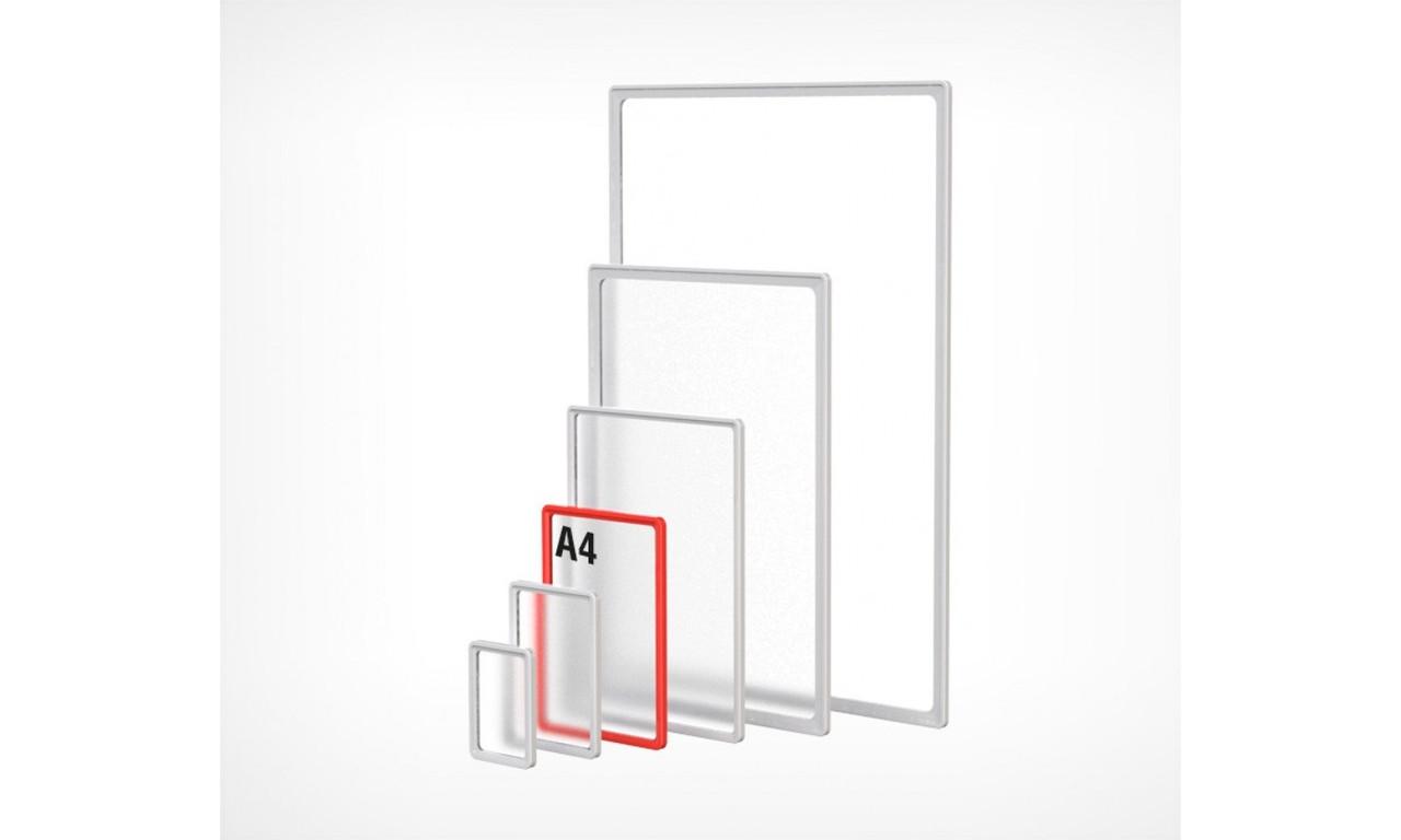 PF- A4 Рамка пластиковая стандартная с закругленными углами (102004)