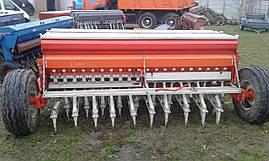 Сеялка зерновая с бункером для удобрений 2,5 м Tume б/у Т-40 ЮМЗ МТЗ, фото 3