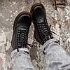 """Мужские зимние ботинки Dr.Martens """"Black"""", фото 8"""
