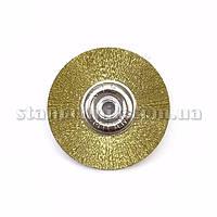 Щетка дисковая латунная UTG  50 мм, металлический диск (451)