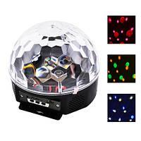 Лазерный диско шар YX-024-M4/XC-01, 220V, пульт Д/У