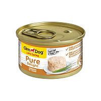 Gimpet (Джимпет) GimDog LD Pure Delight, консервированный корм для собак с курицей, 85гр