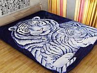 Плед Vitas 160*210 Синие тигрята