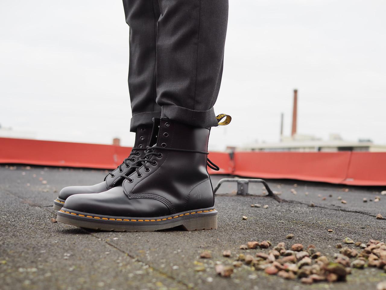 """Мужские зимние ботинки Dr.Martens """"Black"""" - Магазин одежды и обуви «KHAN» в Києві"""