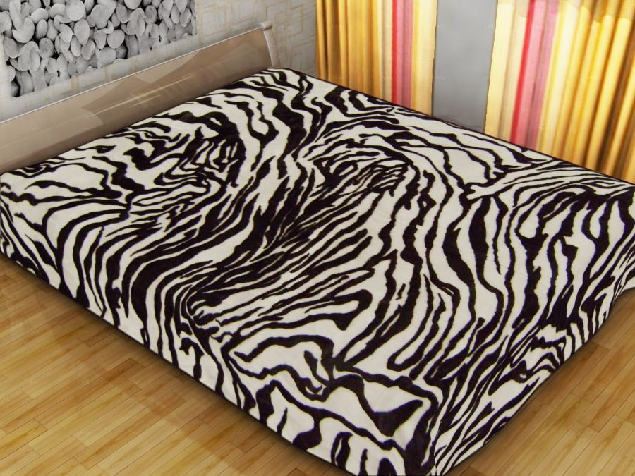 Плед Vitas 160*210 Шкура зебры
