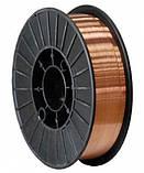 Омедненная сварочная проволока ER 70S-6 (0,8 мм х 15 кг), фото 2