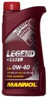 Моторное масло синтетика  Mannol (Манол) Legend+Ester 0w40 1л.
