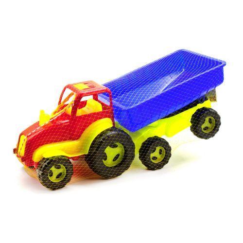 Трактор з причепом арт.5013 -4 красный
