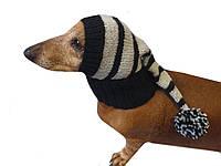 Новогодняя шапка для маленькой собаки или кота
