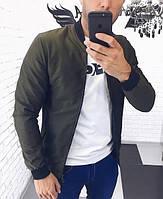 Чоловіча демісезонна куртка з плащової тканини
